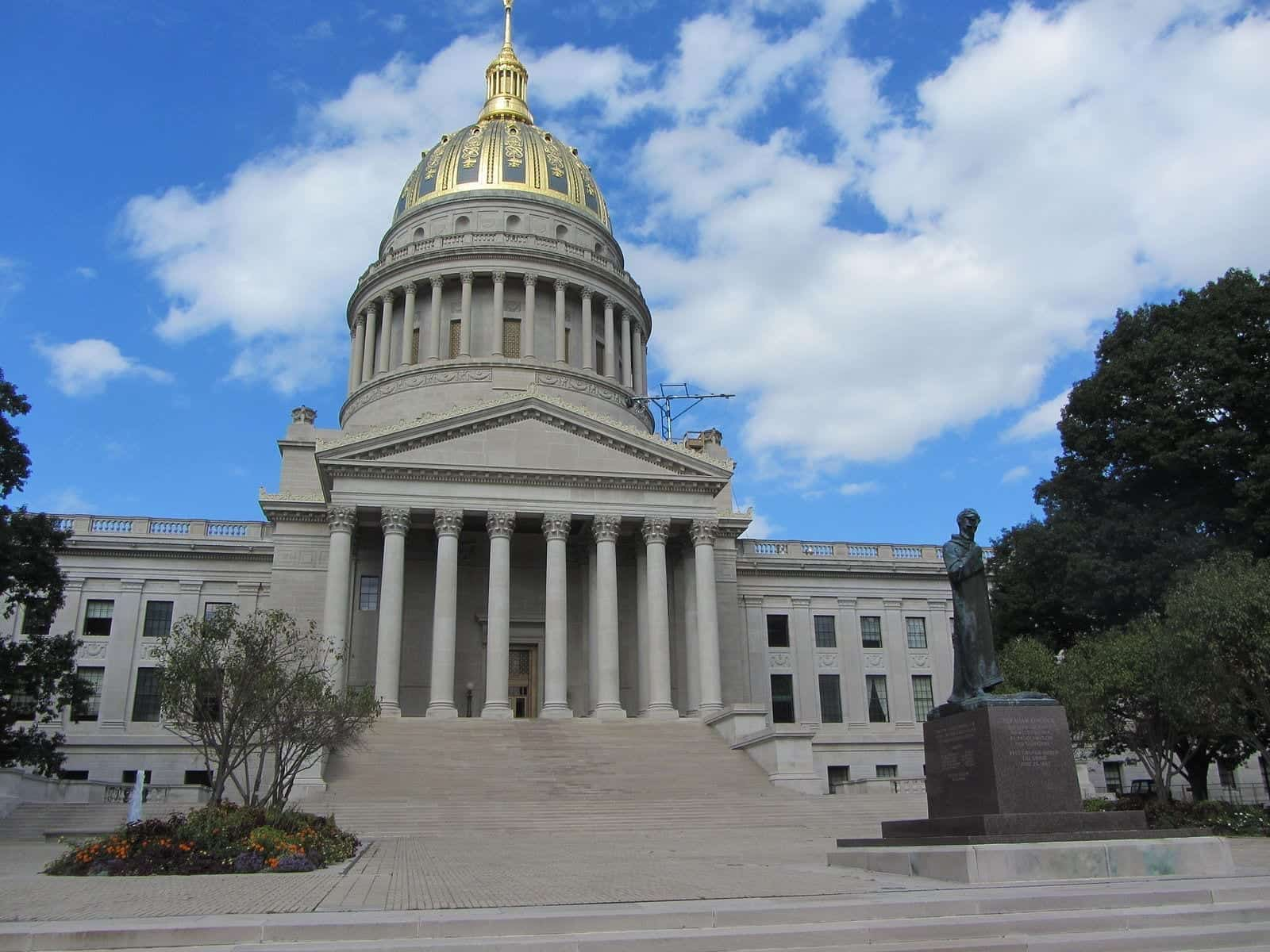 Picture of the West Virginia State Capitol.
