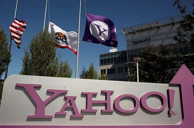 Image of the Yahoo building
