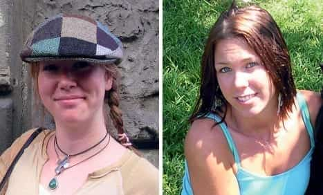 Photos of Raechel Houck (left) and Jacqueline Houck (right)