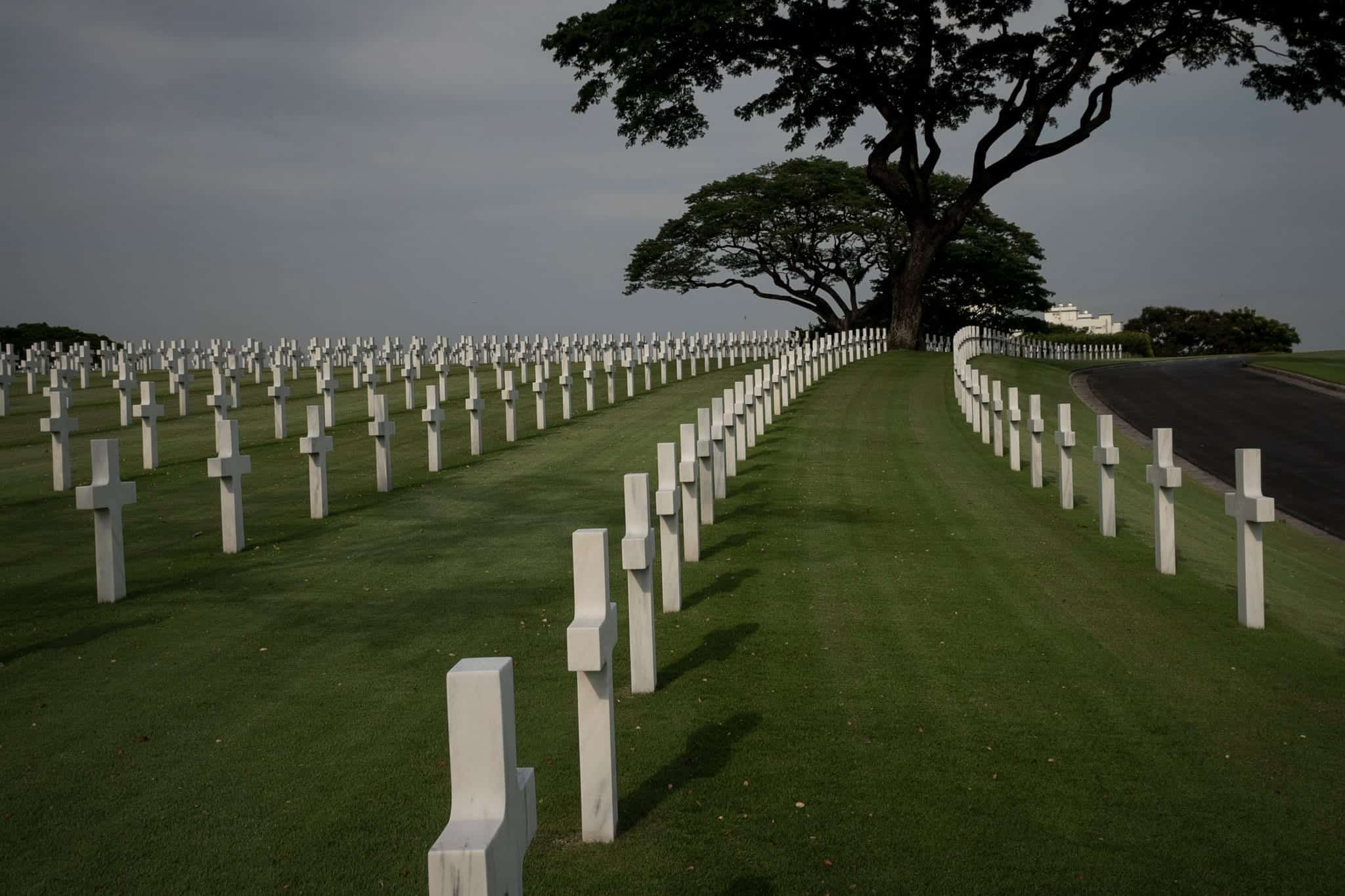 The American Cemetery in Manila