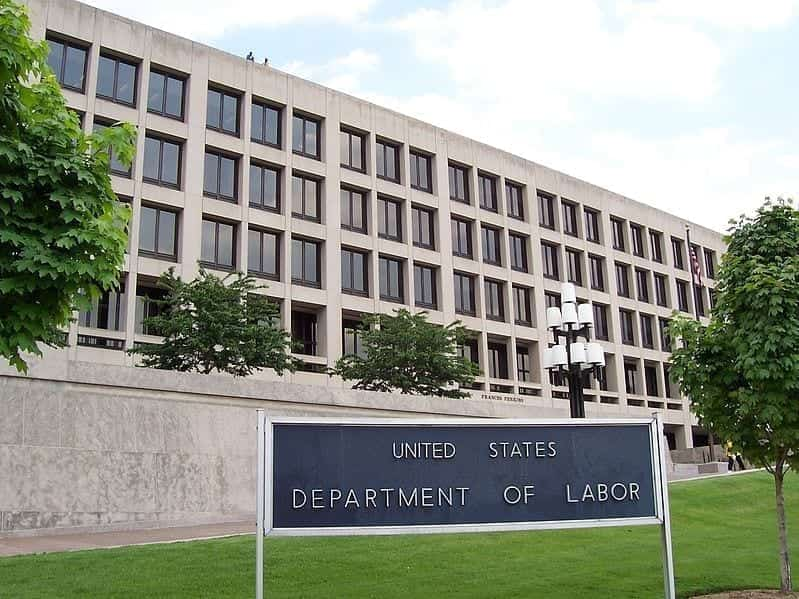 The Frances Perkins Building of the U.S. Department of Labor in Washington D.C.