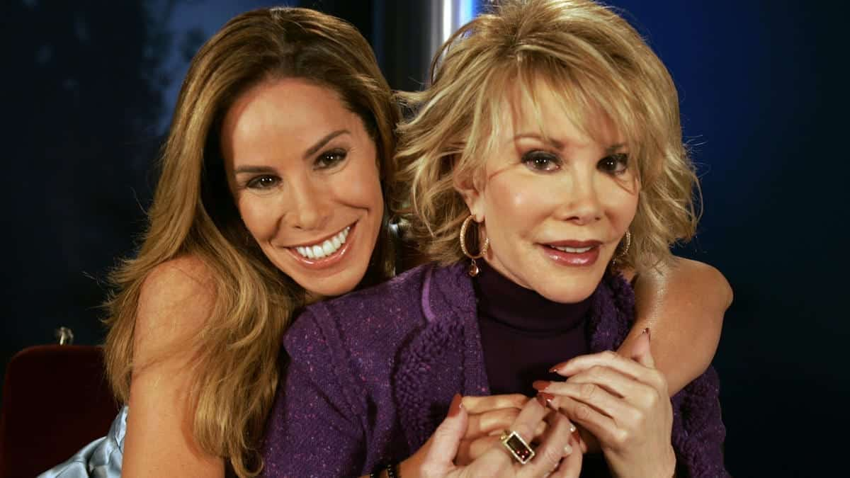 Image of Melissa Rivers and Joan Rivers
