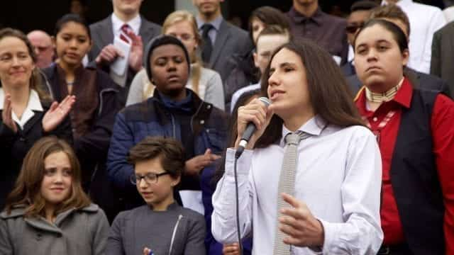 Children speaking about why they chose to sue the federal government over global warming.