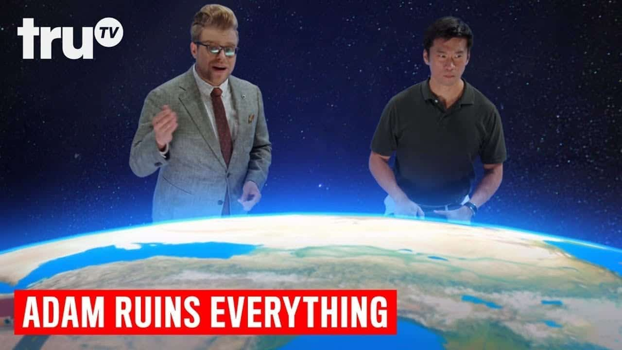 A video still from Adam Ruins Everything - Climate Change is Already Happening. Now what?