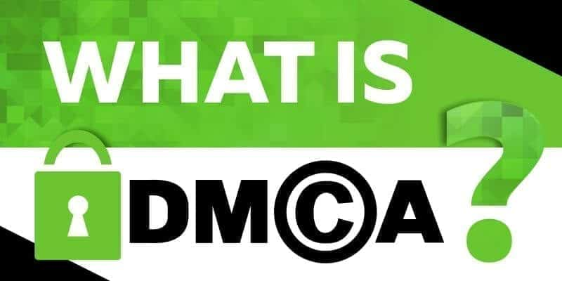 What is DMCA? Image courtesy of www.cloudwards.net.