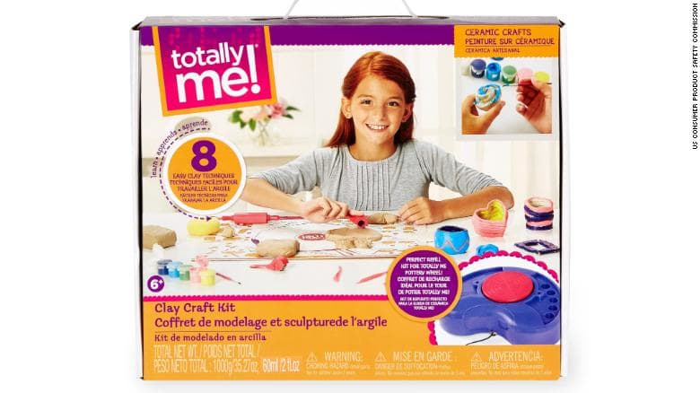 Image of the Recalled Clay Craft Kit