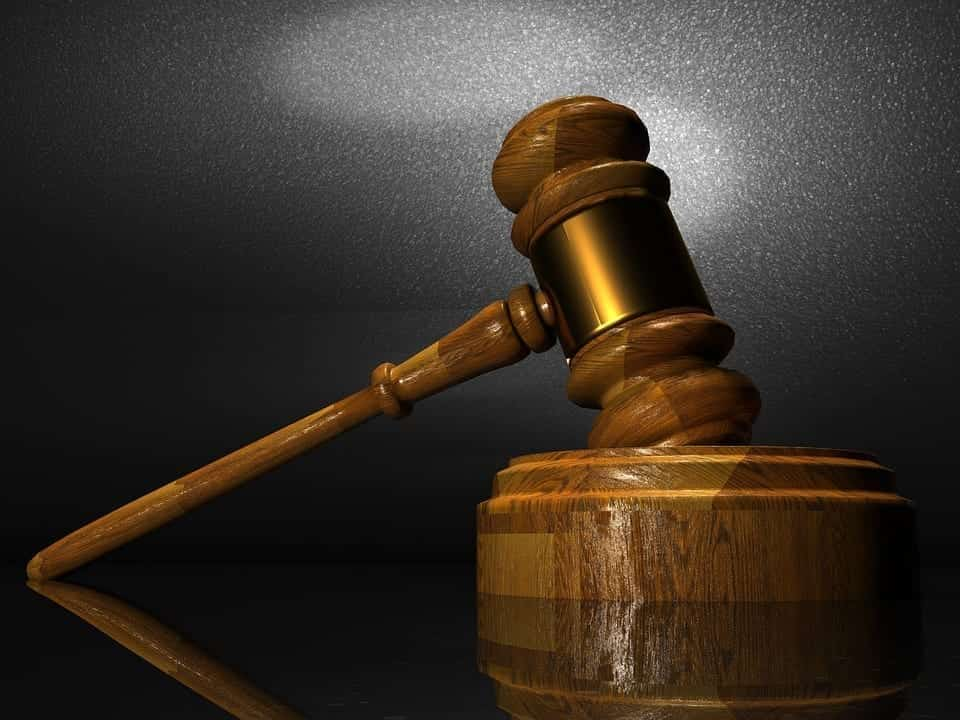 Image of a law gavel