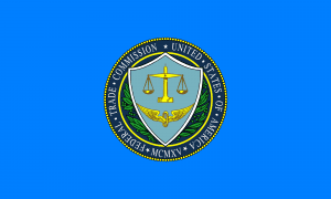 Flag of the United States Federal Trade Commission; image by United States Federal Trade Commission (FTC), Public domain, via Wikimedia Commons. Deceptive debt collectors banned.