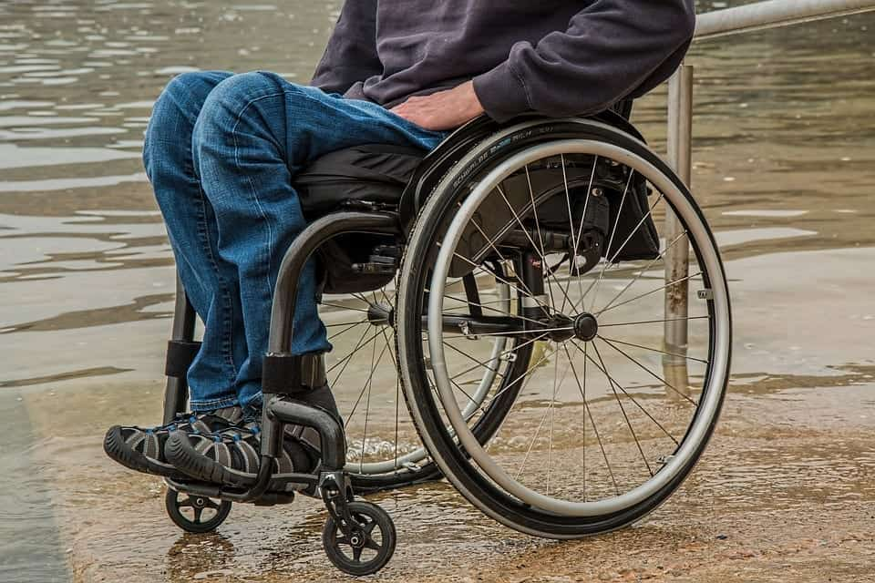 Image of a Disabled Individual in Wheelchair