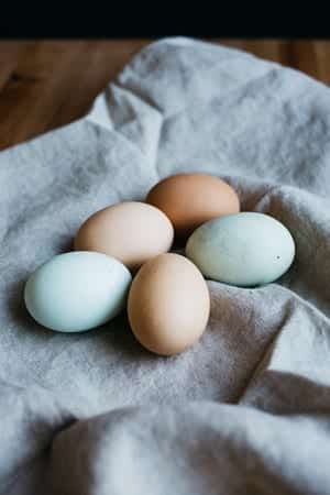Image of five eggs