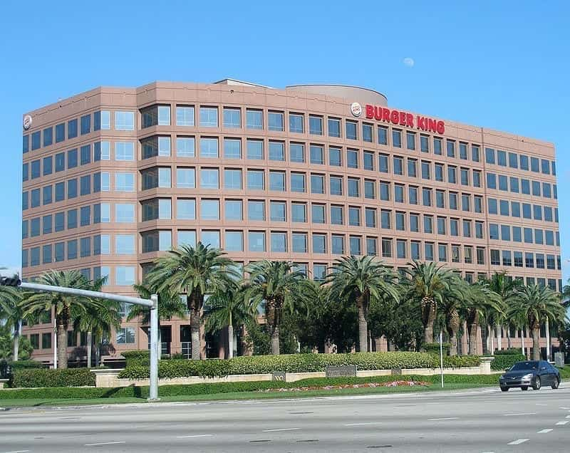 Image of the Burger King Headquarters