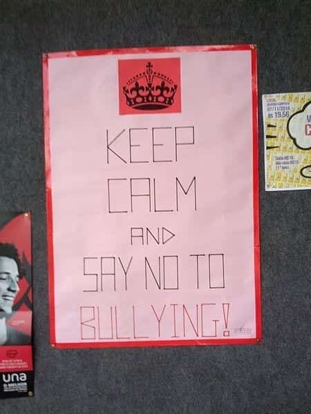 Image of a Say no to Bullying Poster