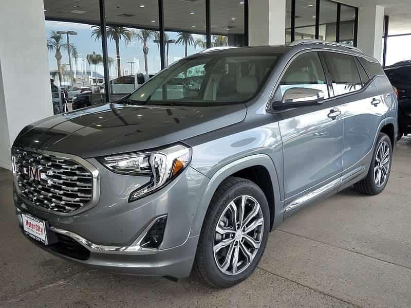Image of a GMC Terrain Crossover