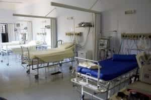 Image of hospital beds