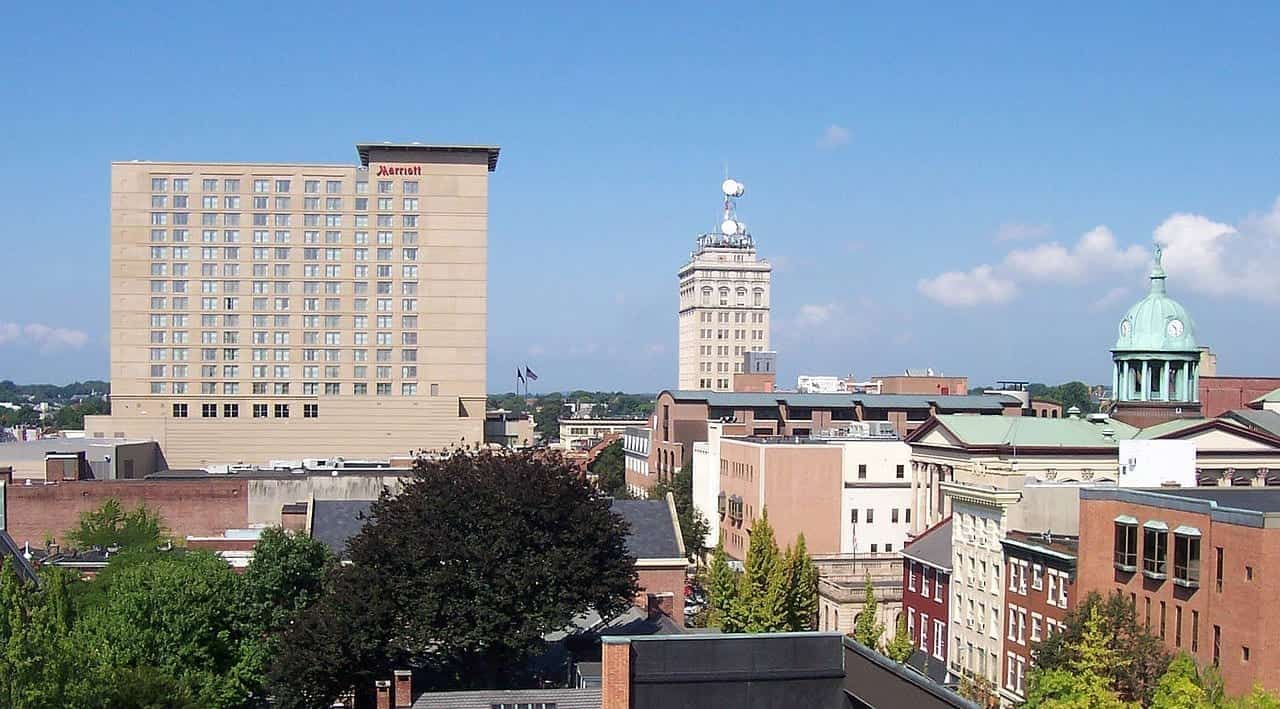 Image of Downtown Lancaster, Pennsylvania