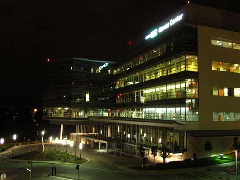 Image of the Medical College of Wisconsin Cancer Center