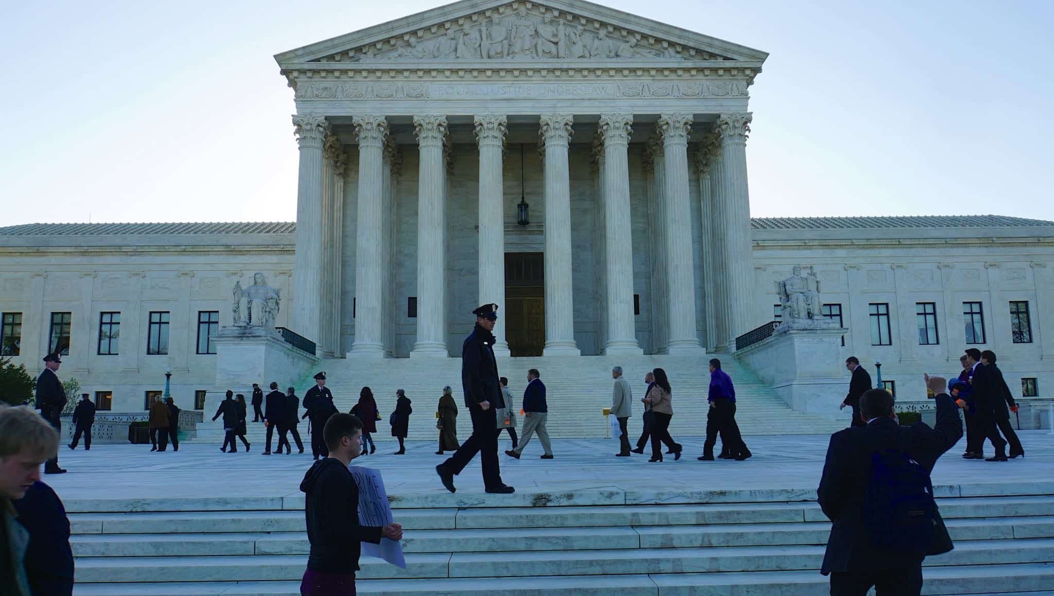 SCOTUS building; image by Ted Eytan, via Flickr, CC BY-SA 2.0, no changes.