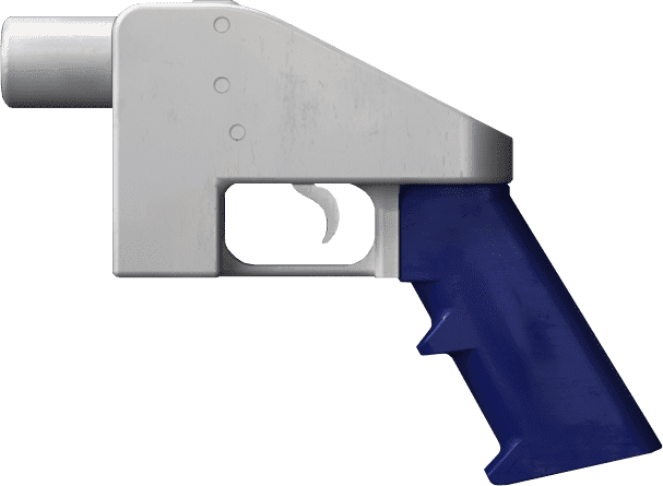 Image of the Liberator, a 3D-printed gun