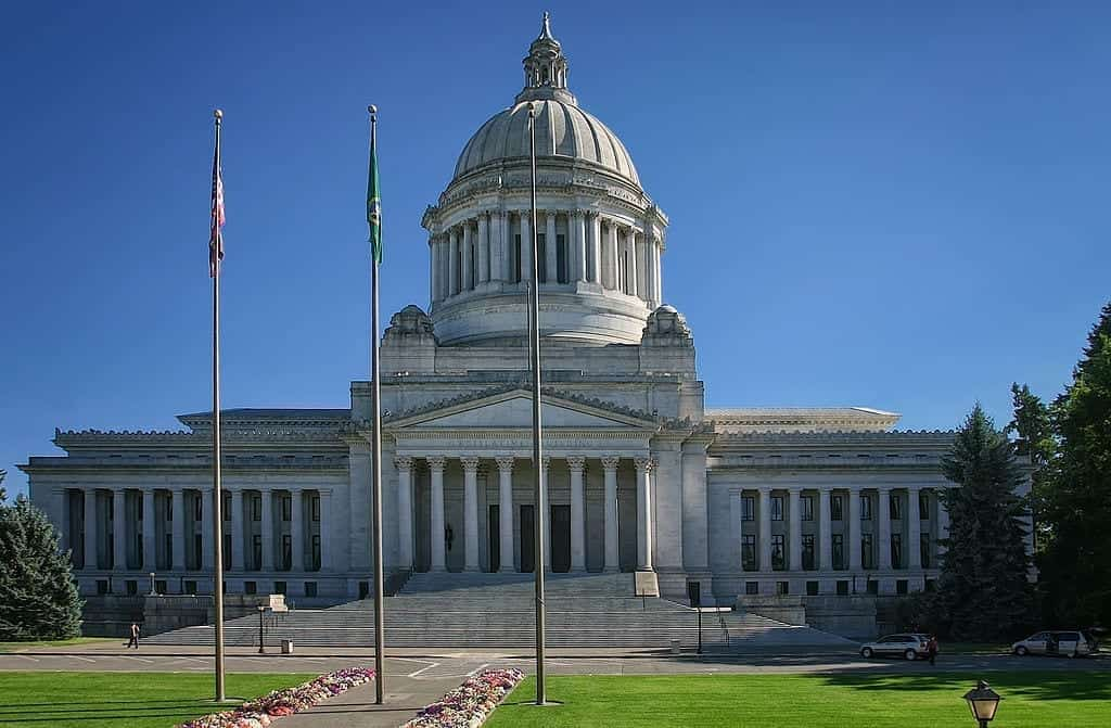 Image of the Washington State Capitol in Olympia