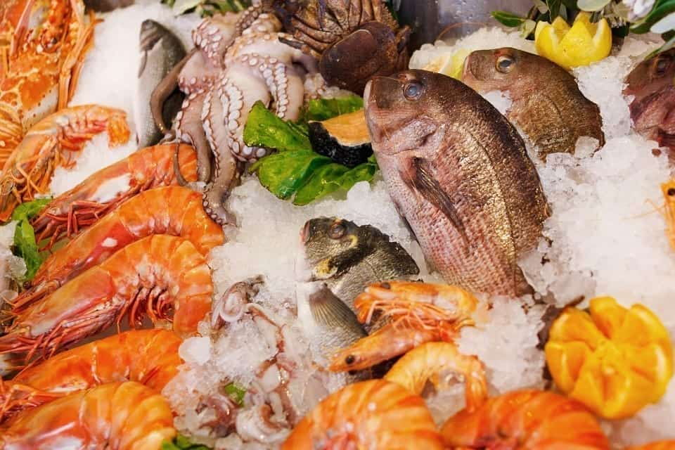 Image of Fish at a Seafood Restaurant