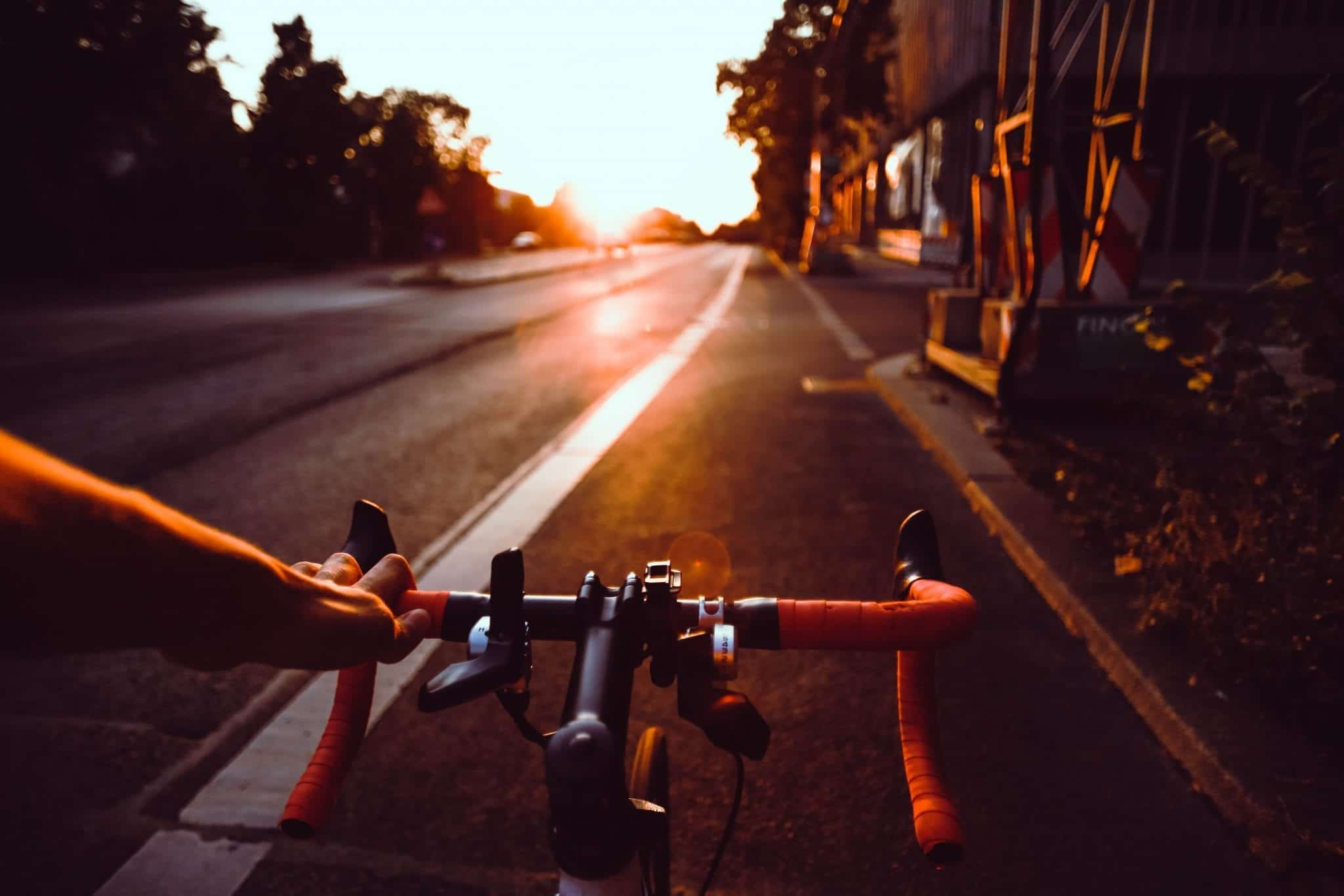 Bike lane; image by Flo Karr, via Unsplash.com.