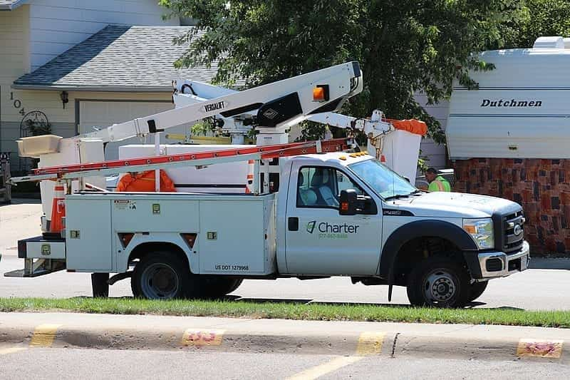 Image of a Charter Communications Service Truck
