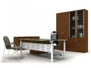 Workstation furniture; image from Shutterstock, provided by author.