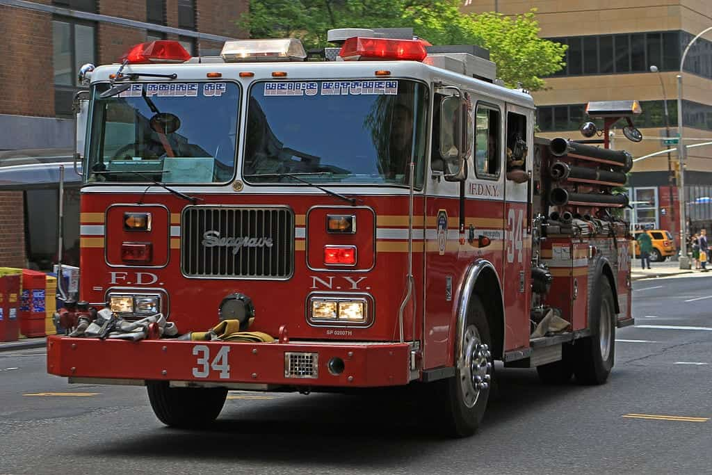 A typical FDNY engine company