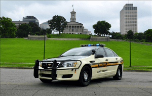 Tennessee Highway Patrol vehicle