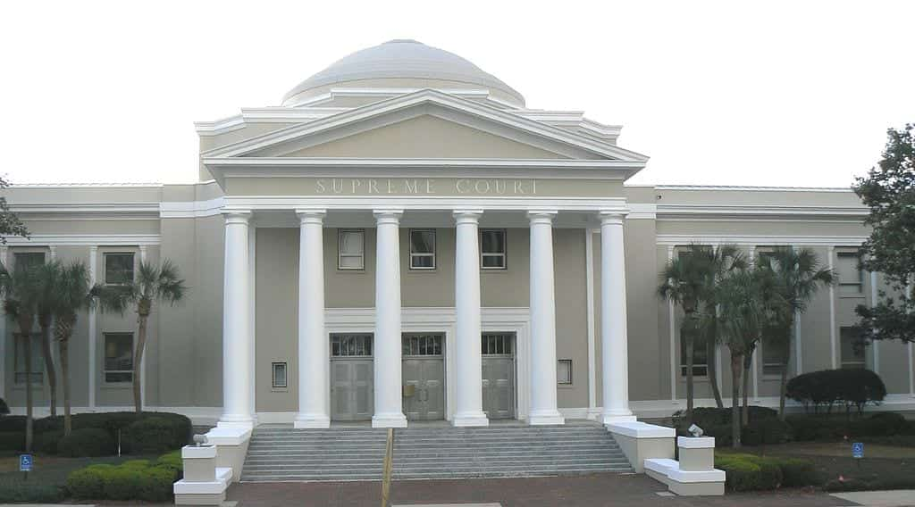 The Florida Supreme Court building