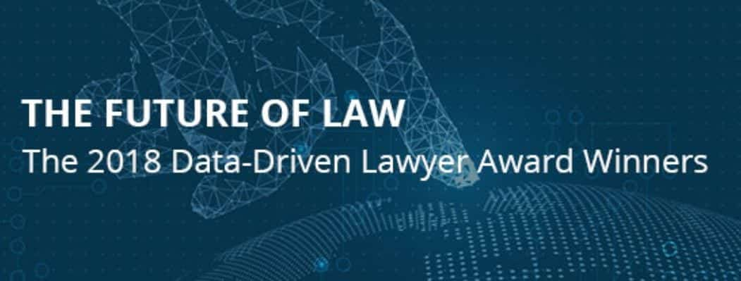 The Future of Law; image courtesy of Lex Machina & Law360.