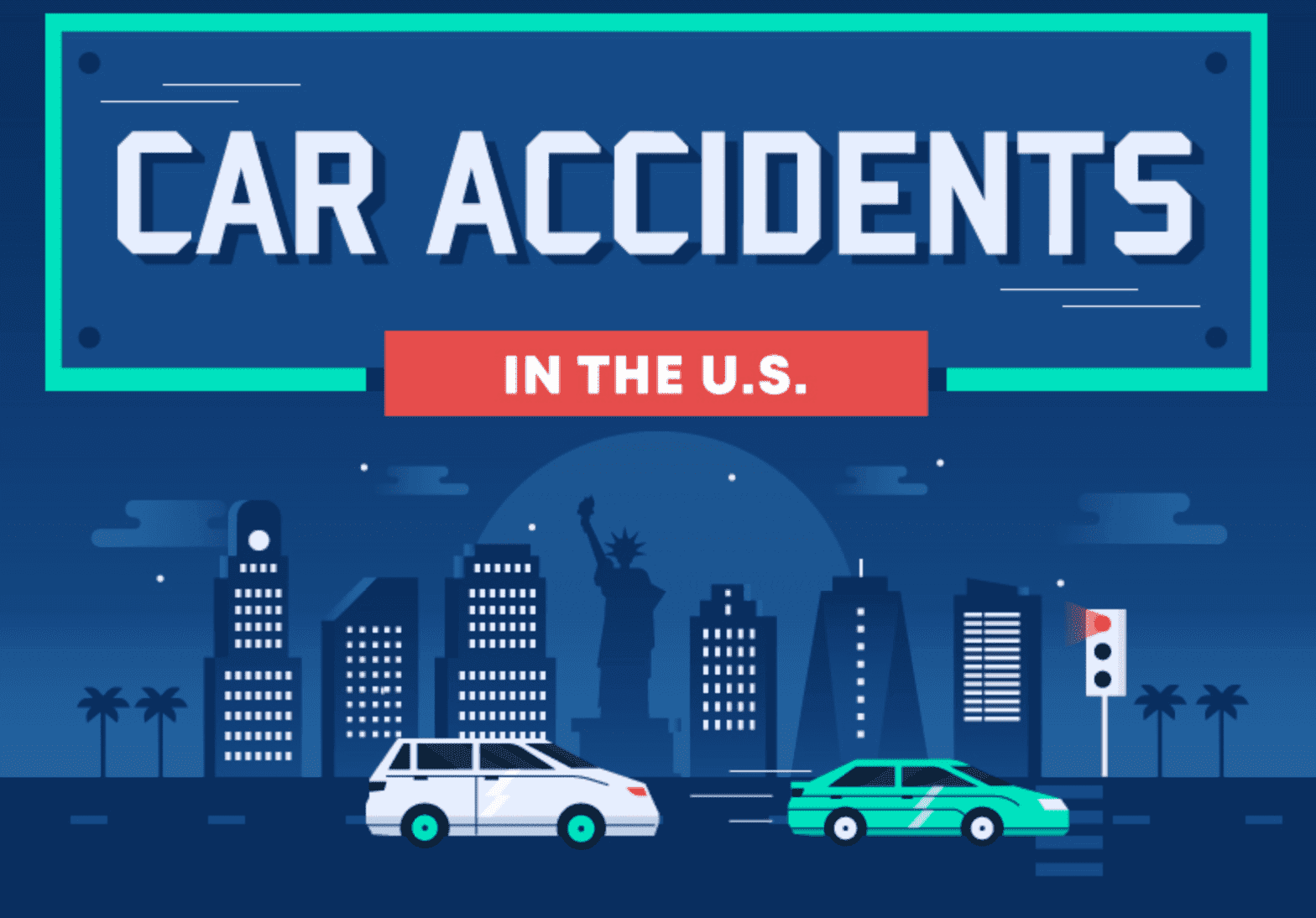 Car accidents in the U.S.; graphic courtesy of the author.