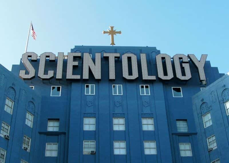 Church of Scientology building in Los Angeles, California