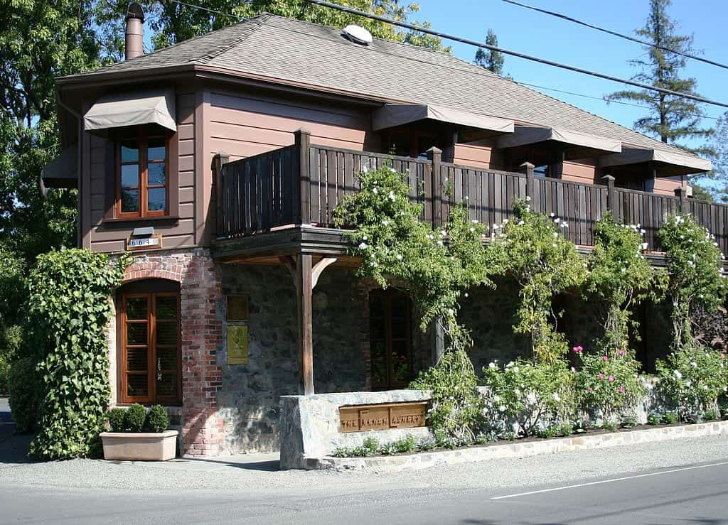 The French Laundry in Yountville, California