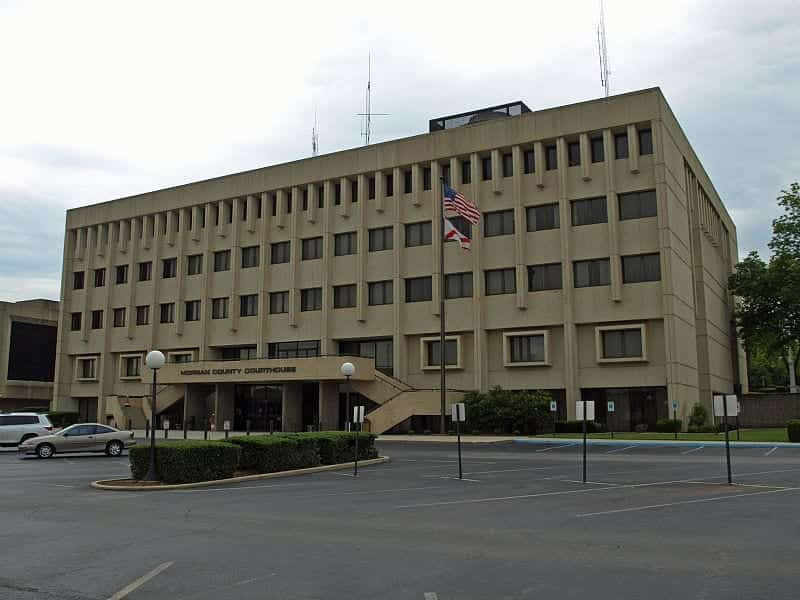 The Morgan County Courthouse in Decatur, Alabama