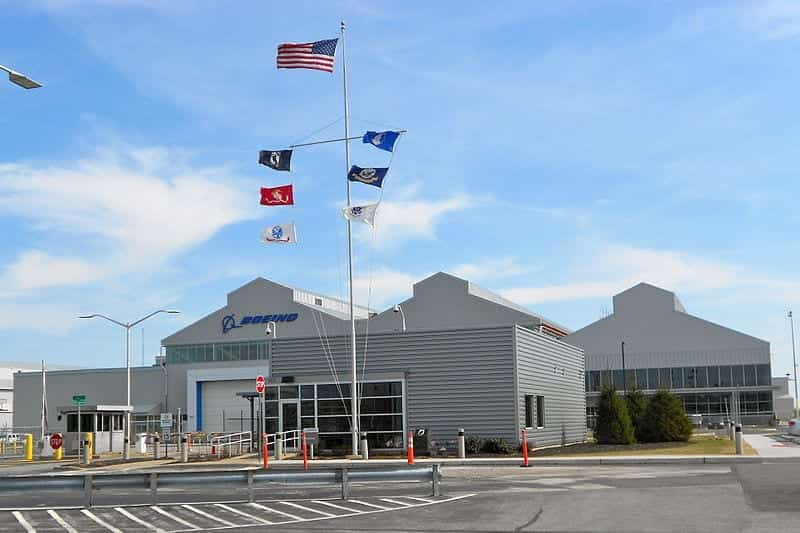 Boeing plant in Ridley Park, Pennsylvania