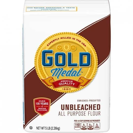 Recalled Gold Medal Unbleached All Purpose Flour
