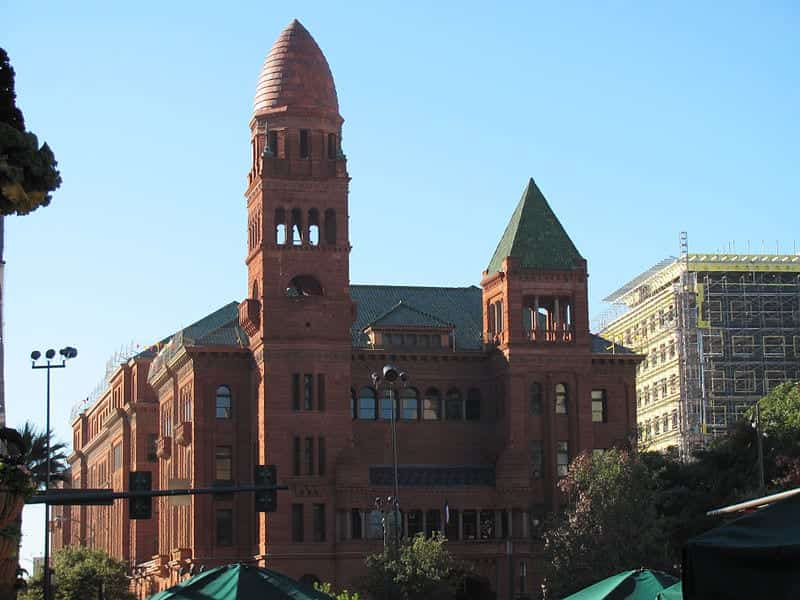 The Bexar County Courthouse in San Antonio